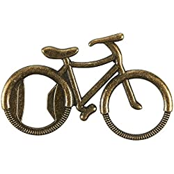 10-Piece Novelty Bottle Openers - Bicycle Bottle Openers, Bronze Antique Bottle Openers, Wedding, Party Favors, 4 x 2.8 x 0.1 Inches