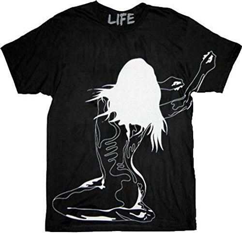 Jersey Shore Pauly D Woman Back Black Adult T-shirt Tee - Snooki D And Pauly