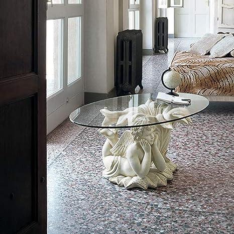 Mocada Cupido Tavolino da Salotto in Ceramica e Vetro ...
