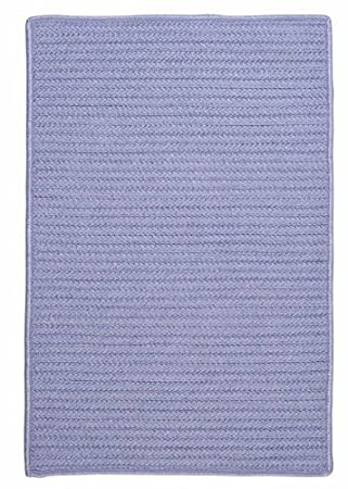 Amethysy Purple Indoor/Outdoor Rug, Very Durable Solid 4ft. X 4ft. Square