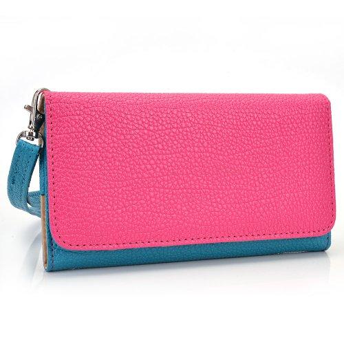 kroo-clutch-wristlet-wallet-for-5-smartphones-baby-blue-and-magenta