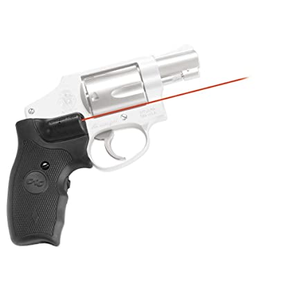 Amazon.com : Crimson Trace Red Lasergrips for Smith & Wesson J-Frame ...