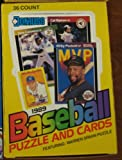 1989 Donruss Baseball Wax Pack Box (36 Count) Unopened [Misc.]