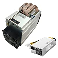BITMAIN Antminer T9+ 10.5TH/s 16nm ASIC Bitcoin BTC & Bitcoin Cash BCC Miner Machine with PSU (Power Supply Included)