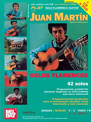 - Play Solo Flamenco Guitar with Juan Martin Book, CD, and DVD: Vol. 1