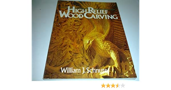 High relief wood carving william j schnute