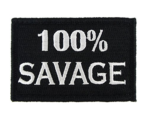 100-Savage-Velcro-Fully-Embroidered-Morale-Tags-Patch