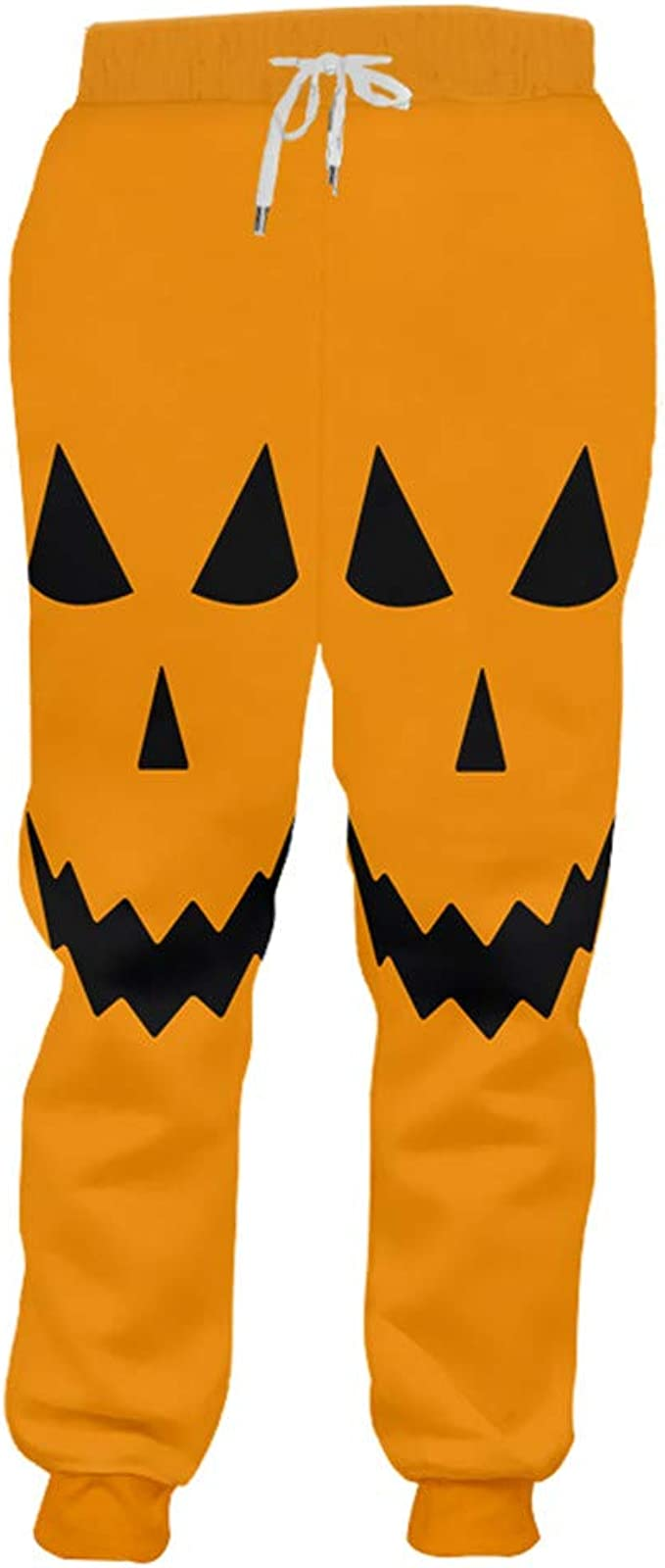 Gengemter Man - Pantalones de chándal con diseño de Calabaza ...