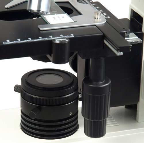 OMAX 40X-1600X Plan Biological Compound Microscope with Kohler Illumination System and Quintuple Nosepiece