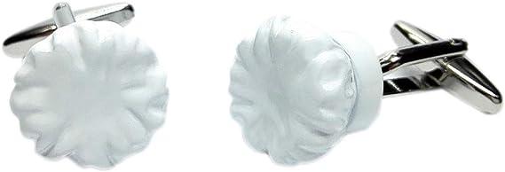 Gemelos para camisa Gorro Cocinero 3D: Amazon.es: Ropa y accesorios