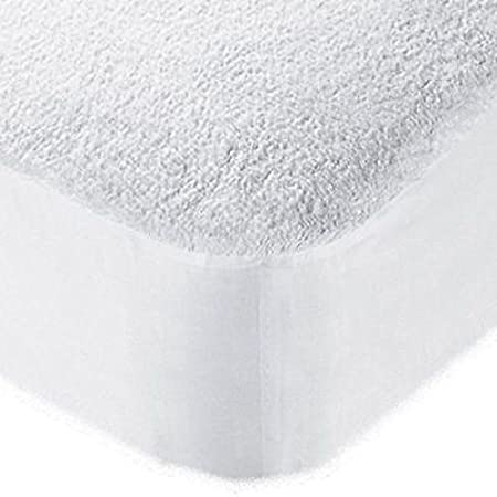 COT BED 60x120 100/% WATERPROOF TERRY TOWEL MATTRESS PROTECTOR FITTED SHEET COVER