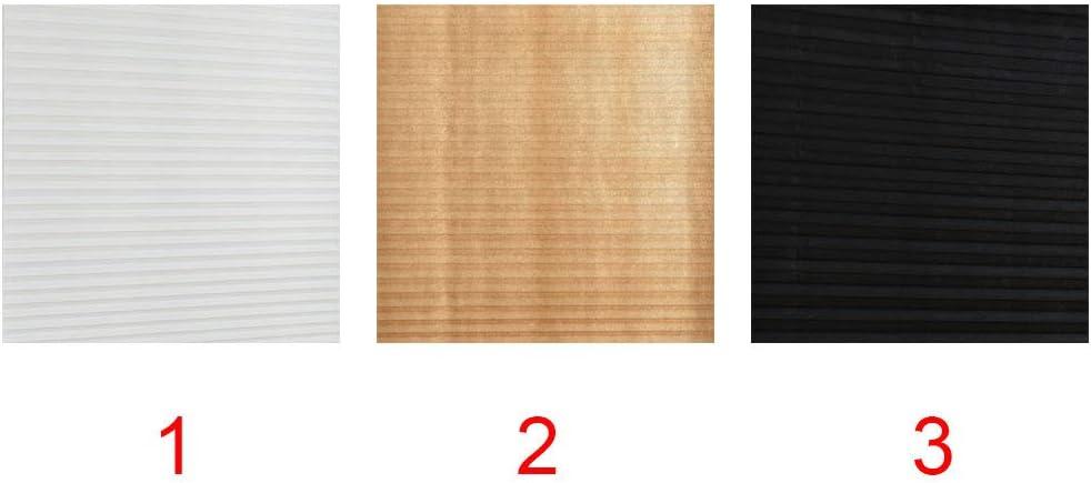 autoadesiva Oscurante Plissettata Senza Fori Facile da installare e Senza Fili 4 Misure Bianco Fissaggio rapido 60 * 150 SYN Tenda Plissettata