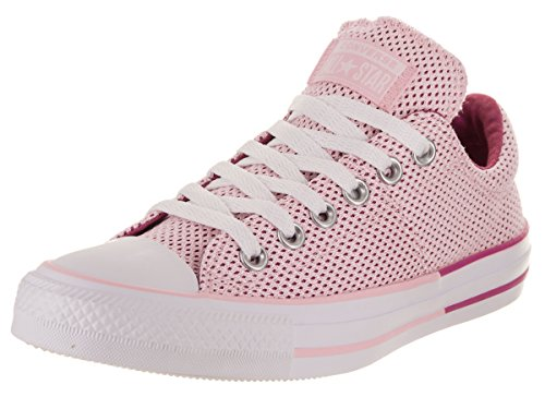 Madison Sneaker Low Women's Hyper Magenta Cherry Color Blossom Pop Converse Mesh Top 65w0x0B