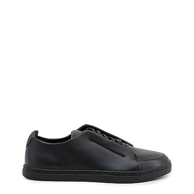 2825e9492f45 Duca di Morrone Men Sneakers Shoes Black Running Trainers  Amazon.co.uk   Shoes   Bags