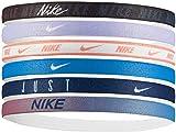Nike Printed Headbands 6PK OSFM Black/Lavender