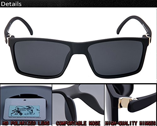 C3 Hombre Mujer C3 De Gafas Polarizadas Protección Aviator UV Sol para para 400 qXwRw70B