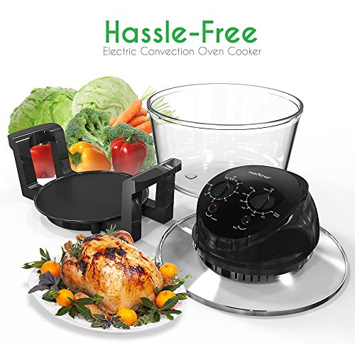 Bake, Grill, Steam Broil, Roast & Air-Fry , Includes Glass Bowl, Broil Rack and Toasting Rack