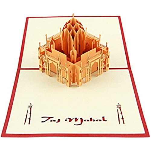 Artistic Pop-up Greeting Cards 3D Taj Mahal Sales
