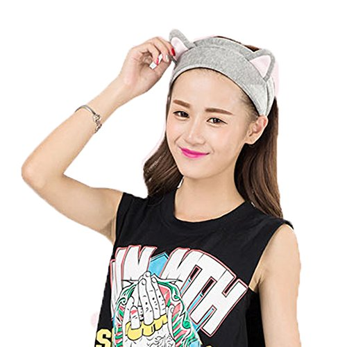 Newdora Headband Elastic Fashion Sweatband