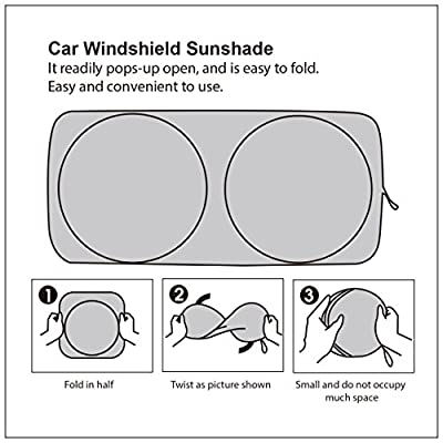 CARTMAN Windshield Sun Shade 63