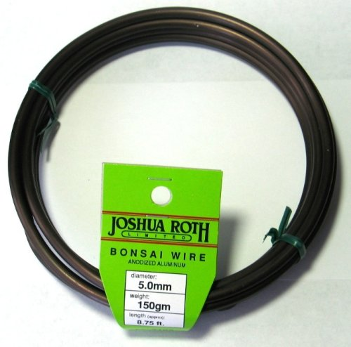 Bonsai Wire 5.0 mm 50 Percent More Than Competing Brands by Joshua Roth