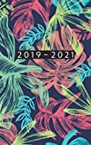 2019 - 2021: Weekly Planner Starting June 2019 - May 2021 | 5 x 8 Dated Agenda | 24 Month Appointment Calendar | Organizer Book | Soft-Cover Tropical