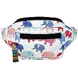 Elephant Fanny Pack, Boho Chic Handmade w/Hidden Pocket (Elephanty Pack)