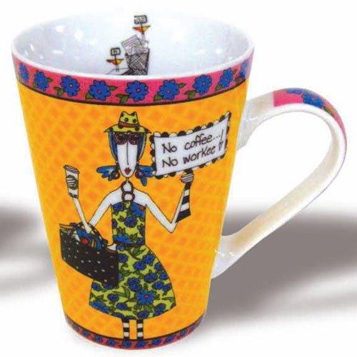 Dolly Mama - NO COFFEE - Mug - Mama Dolly Designs