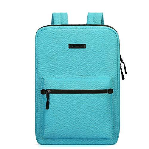 aterproof Computer Backpack Novel Design Nylon Durable Laptop Backpack Firm Structure,Comfortable Feel,Fine Workmanship,Laptop Bag for Blue MacBook,ASUS ()