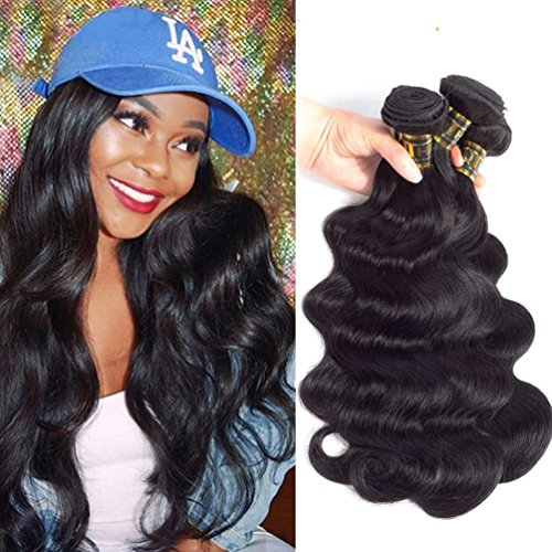 QTHAIR 10A Body Wave Brazilian Virgin Human Hair 18