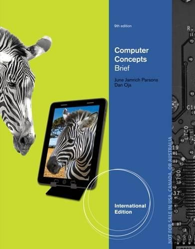 Computer Concepts: Illustrated, Brief International Edition