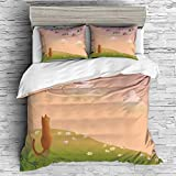 Makeover and refresh your bedrooms every season with just a single touch! Start with these fun and decorative Duvet Cover Sets.  These unique designs match well with various color palettes of your rugs, curtains, headboard, furniture, and all other d...