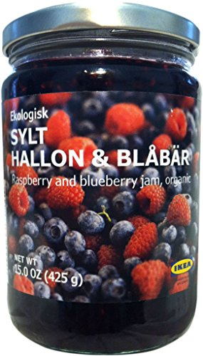 Organic Raspberry and Blueberry Jam - Sylt Hallon & Blabar Ekologisk - Ikea Food