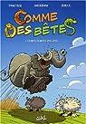 Comme des bêtes, tome 1 : Complètement zoo zoo par Ghorbani