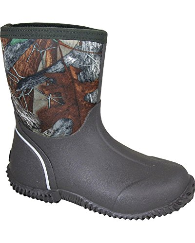 Amphibian Mountain Smoky Childs Camo Brown Boot ZUxR6wY