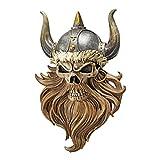 Design Toscano The Skull of Valhalla Viking Warrior Wall Statue