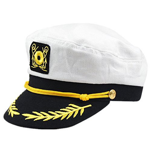 Veroda Sailor Captain Cap Fancy Dress Cosplay