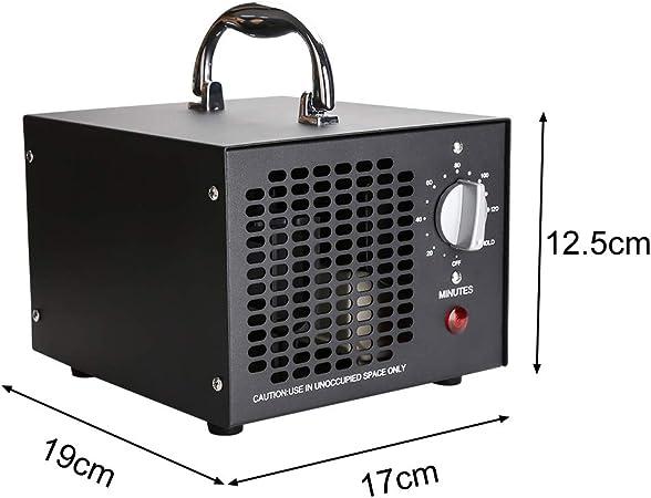 wolketon generador de ozono 5,000mg / h, purificador de Aire de ...