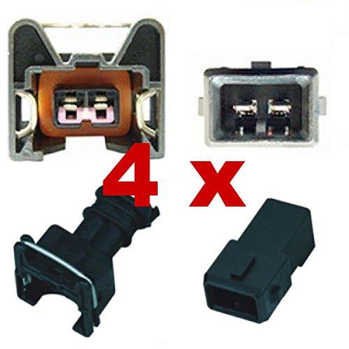 Reemplazo inyectores conector - BOSCH EV1 (4 x SET) 1287013003, 1 287 013 003