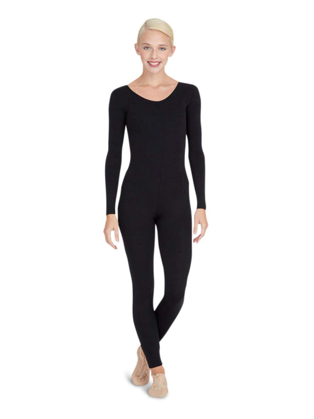 Capezio Women's Long Sleeve Unitard,Black,Small by Capezio