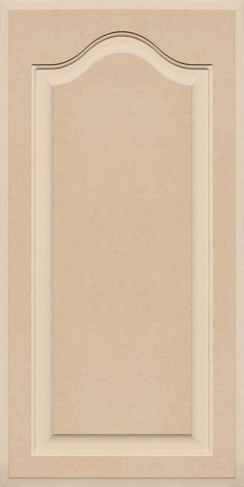 30 High x 15 Wide Unfinished Arch Top Cabinet Door in MDF by Kendor