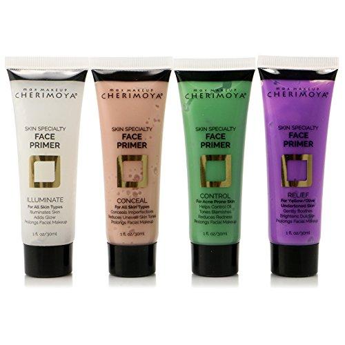 4pc Cherimoya Skin Specialty Face Primer set of 4 colors PRM400