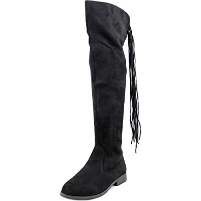 LFL by Lust For Life Women's Rascal Black Boot 6 B ...