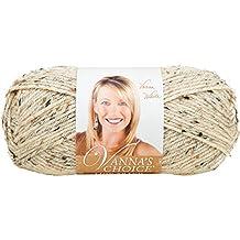 Lion Brand Yarn 860-400D Vanna's Choice Yarn, Oatmeal