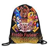 Five Nights At Freddys Pizza White Training Sackpack