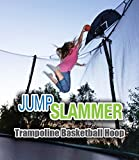 Trampoline Pro Jump Slammer Trampoline Basketball Hoop | Easy Install | Foam Ball Included