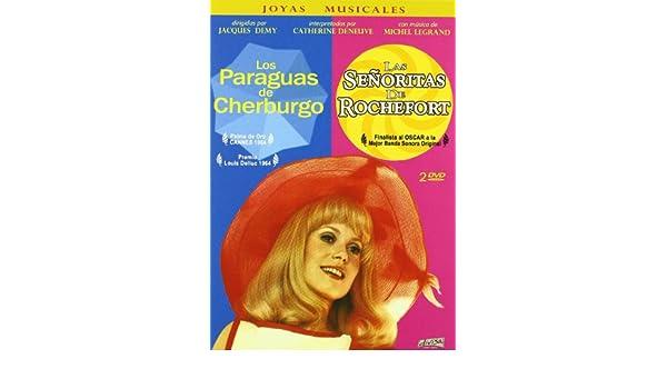Amazon.com: Los Paraguas De Cherburgo (Les Parapluies De Cherbourg) (1964) + Las Señoritas De Rochefort (Les Demoiselles De Rochefort) (1967) (2 Dvds) ...