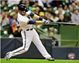"Jonathan Lucroy Milwaukee Brewers 2013 MLB Action Photo #5 (Size: 8"" x 10"")"