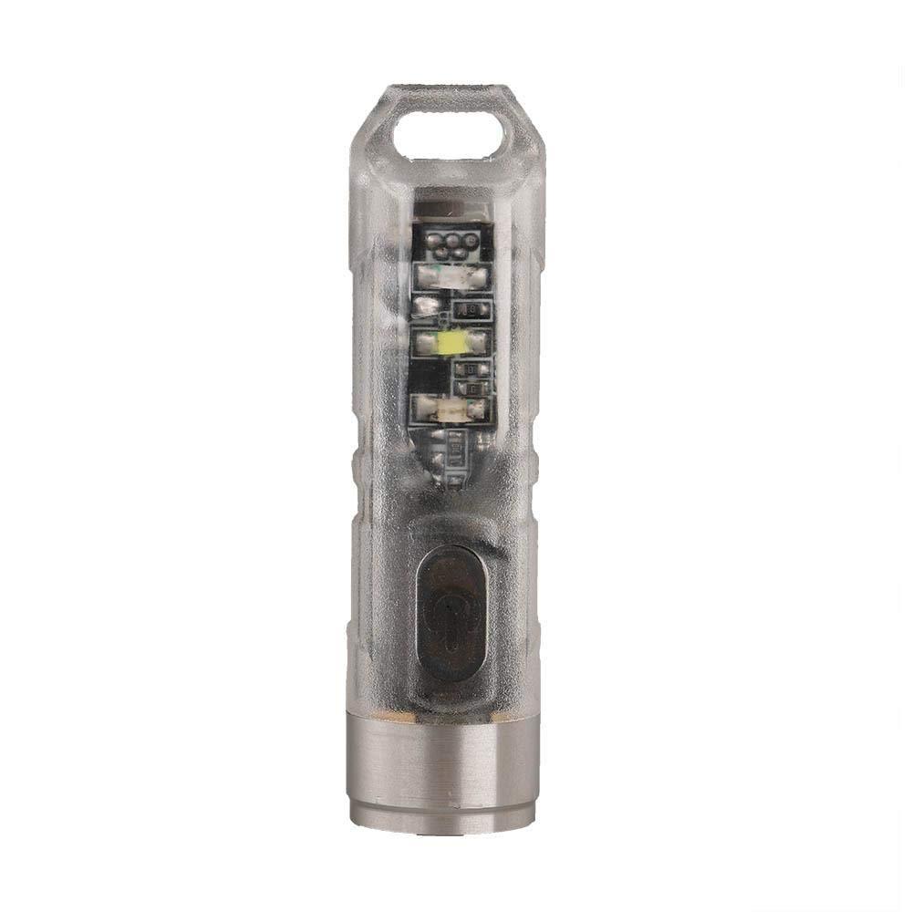 Selected-lights Rovyvon A6 UV Mini USB aufladbare Schlüsselbundlampe
