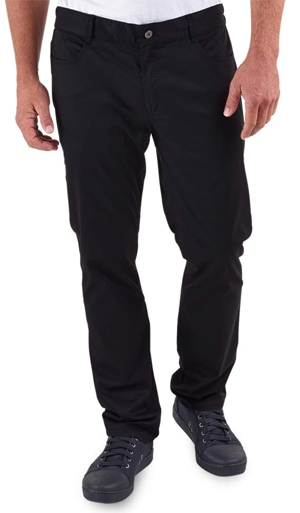 Men's Stretch Jean Style Chef Pant (XS-3X, Black) (XXX-Large) by ChefUniforms.com